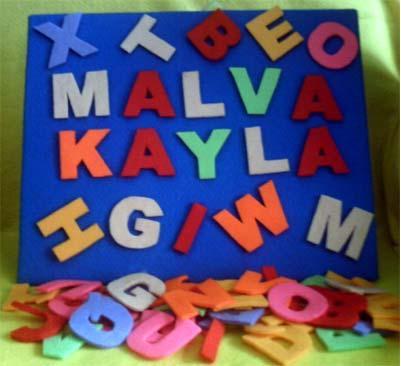 alphabet-flanel-set